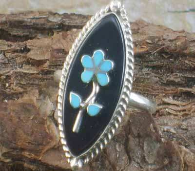 Native American Ring- sz 7.75