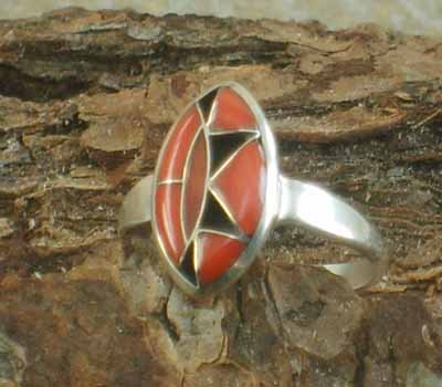 Native American Ring- sz 7