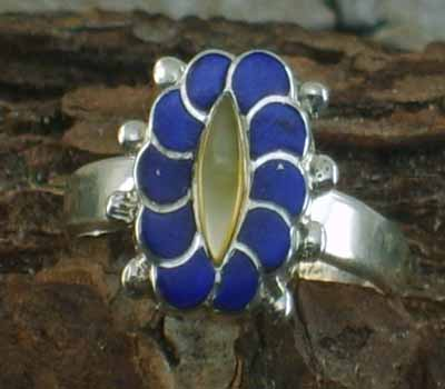 Native American Ring- sz  6.75