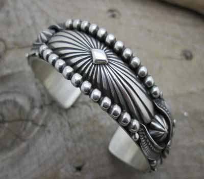 American Indian Cuff Bracelet - Beauty!