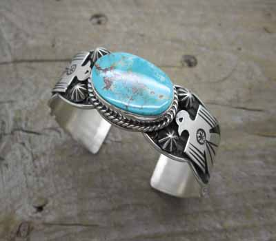 671a85f2a5e Native American Indian Jewelry/ Sterling Silver Bracelets at The ...