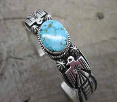 Turquoise Cuff Bracelet Pilot Mountain Andy Cadman