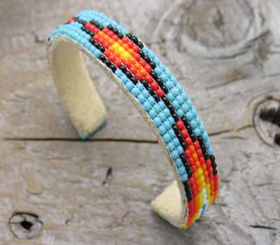 Native American Jewelry Beaded Bracelet -7 Row