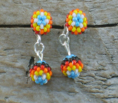 Beaded Earrings - Native American E