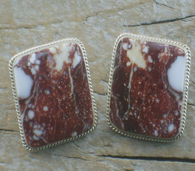 Native American Earrings Crazy Horse
