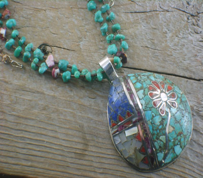 Native American Jewelry Necklace & Pendant
