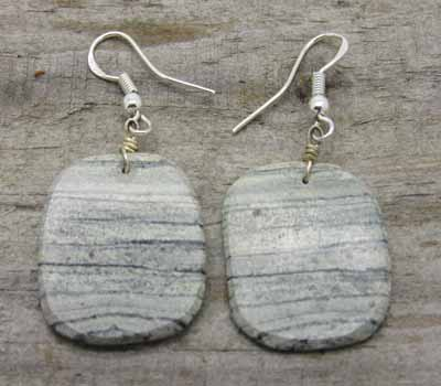 American Indian Earrings -Serpetine E2