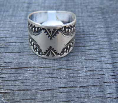 Native American Sterling Band