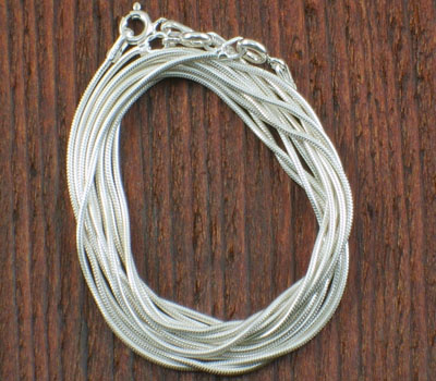 Sterling Silver Rope Chain - bali i 16 inch